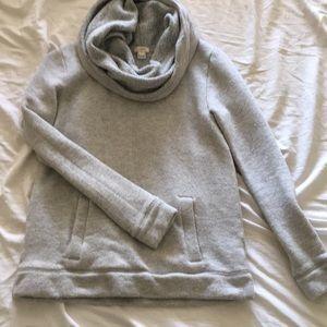 J Crew Cowl Neck Sweatshirt size S